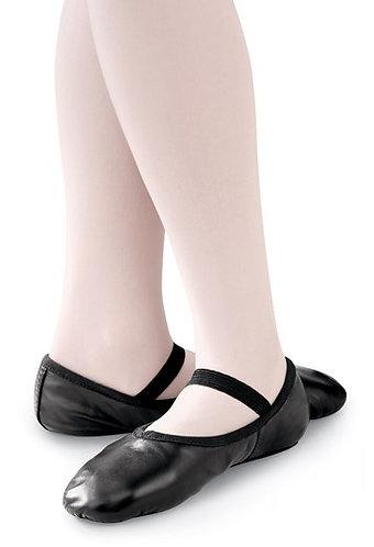 Adult Full Sole Black Ballet Shoe