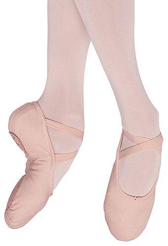 Adult Pump Canvas Split Sole Ballet Slipper