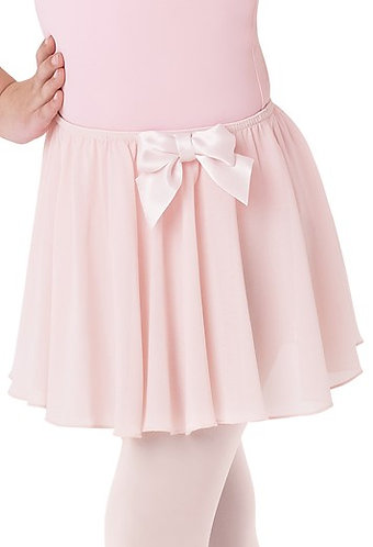 Child Bow Accent Ballet Skirt