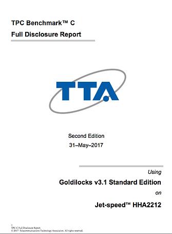 Goldilocks TPC-C benchmark