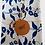 Thumbnail: pano de louça floral azul