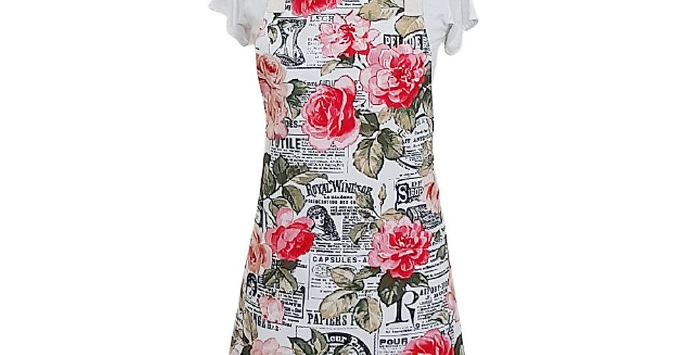 avental dry rosas