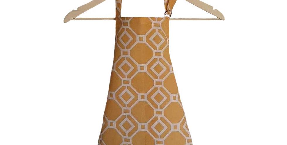 avental infantil modern amarelo