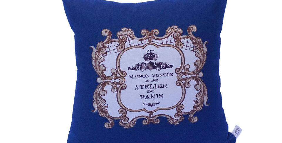 almofada atelier azul