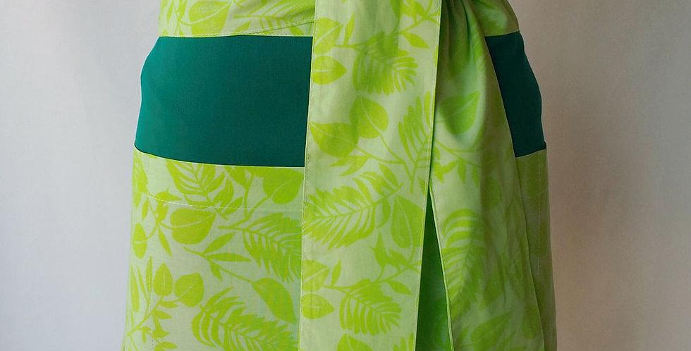 avental cintura cuba verde