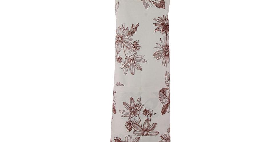 avental floral
