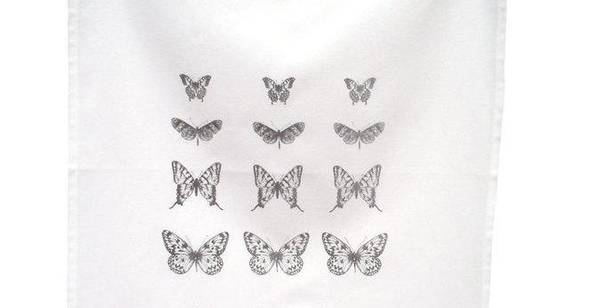pano de cozinha butterfly preta