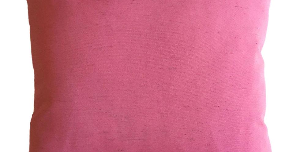 almofada seda rosa big
