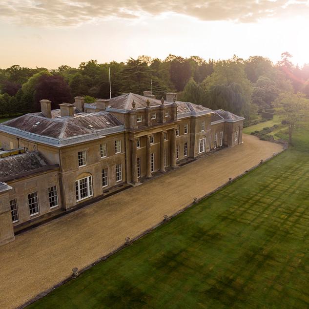 Sunrise at the manor