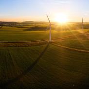 Wind Farm at Dawn