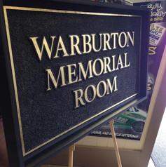 Warburton Memorial Room