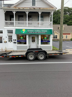 Green Valley Glass Awning