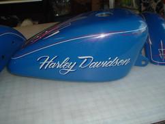 Harley Davidson Pinstriping