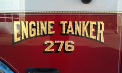 Engine Tanker 276 Hand Painted