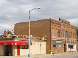 Demolition of the Wells Building