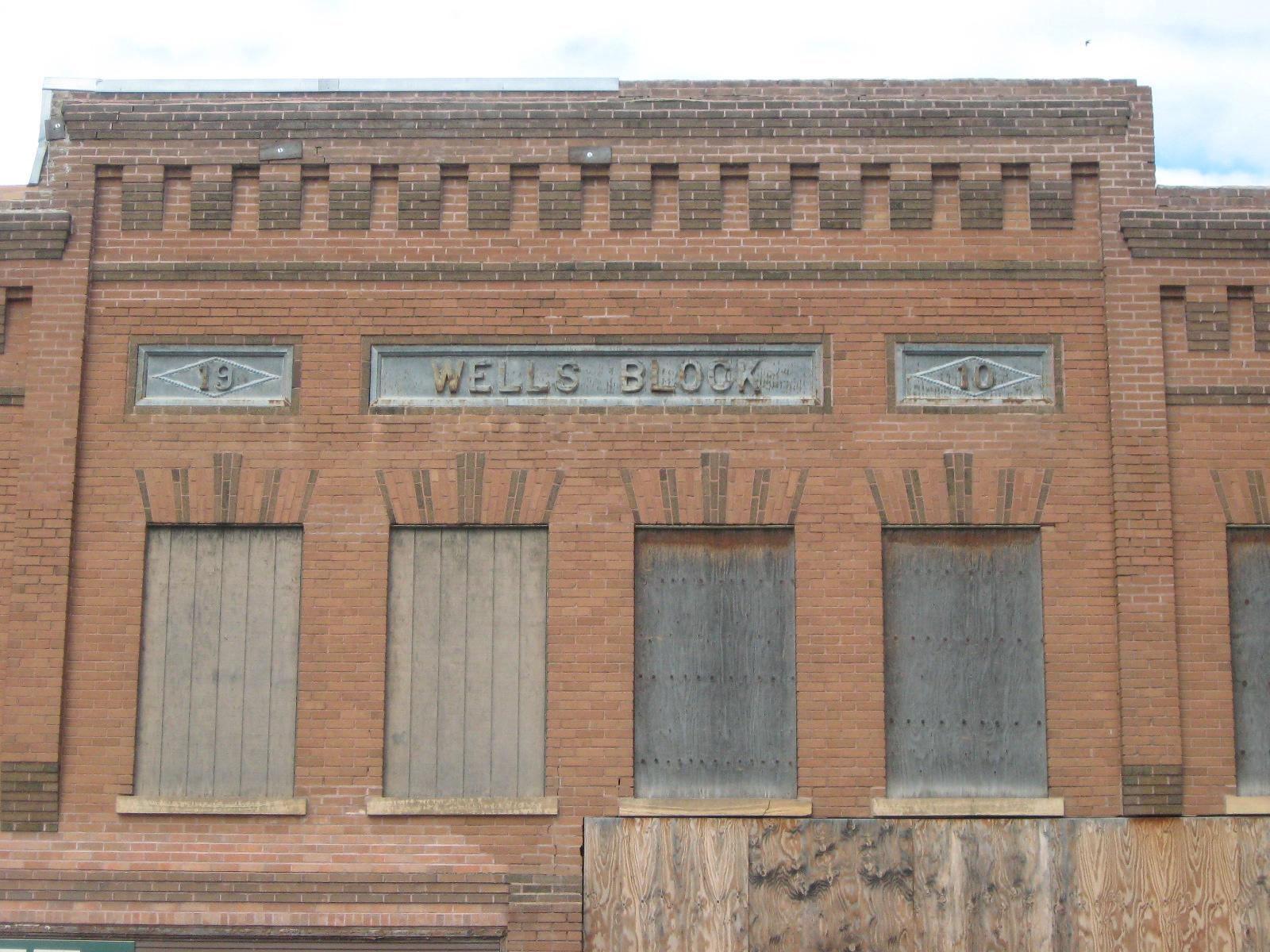 Wells Building Closeup - August 2014