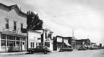 Old time photo of Main street of Herman