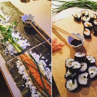 Vegetable Sushi
