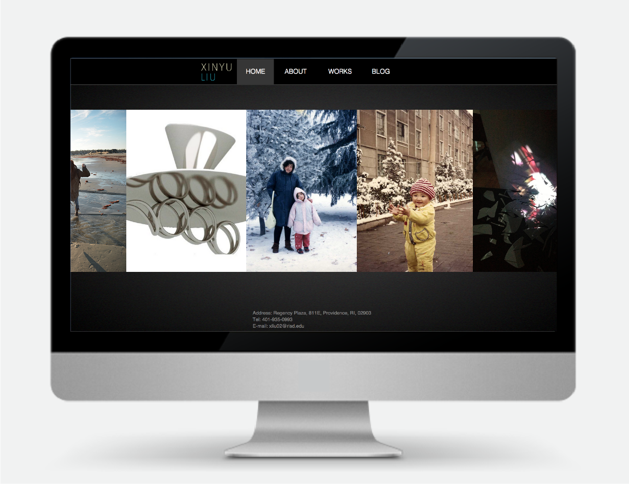 Personal Website Design and Code