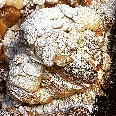 Filled Apple Pie Croissant, Almond Croissant, Cinnamon Croissant