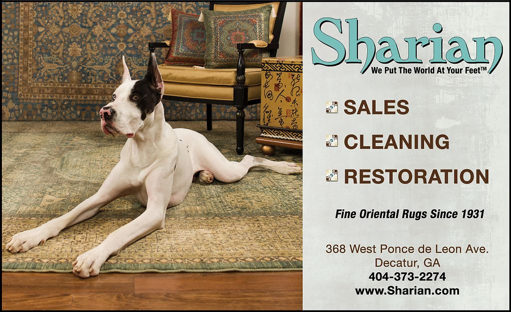 Sharian Decatur Living Spring 2013 w_dog