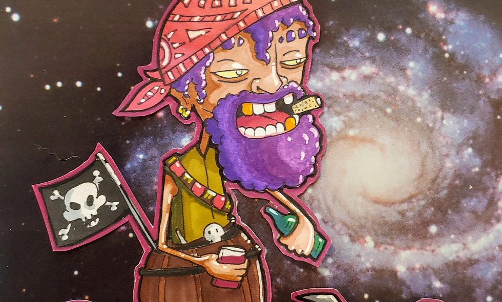 Domed Space Pirate