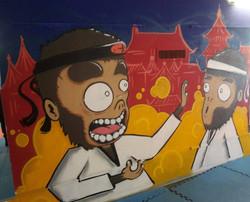 Malley Taikwondo mural
