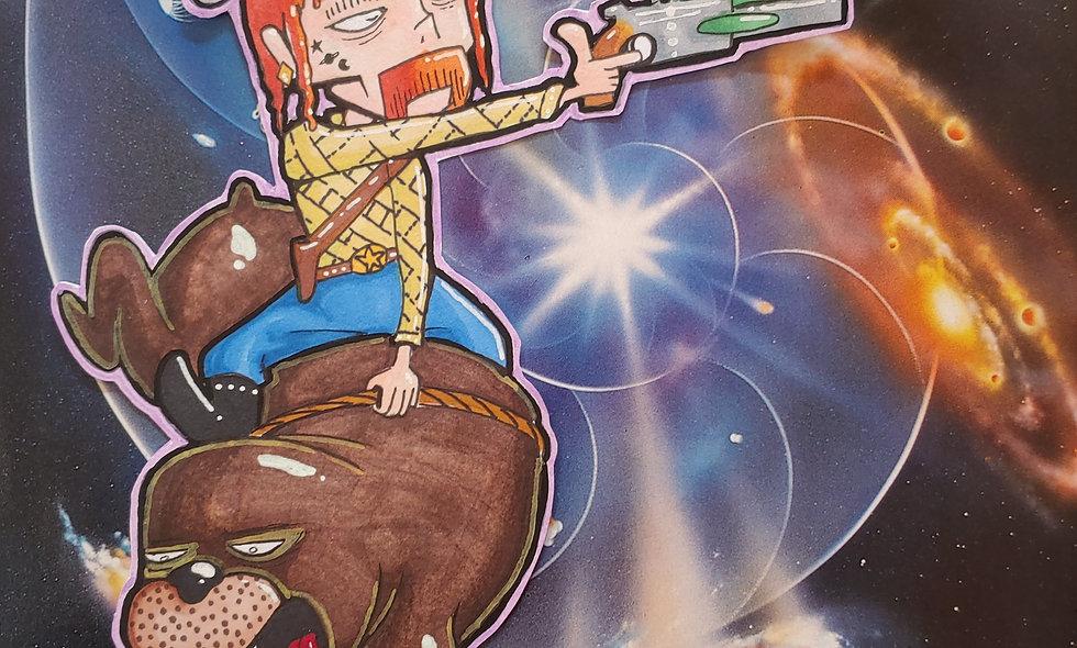 Space Cowboy walurus rider