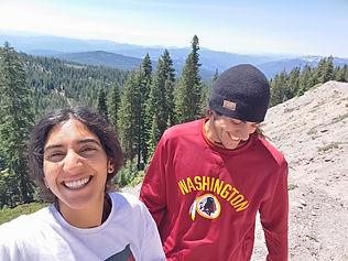 N & S hike