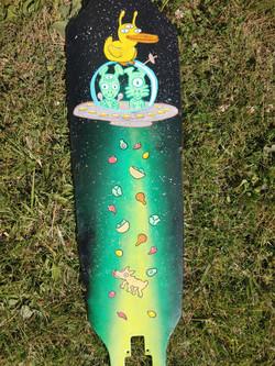 Lucky ducky skateboard