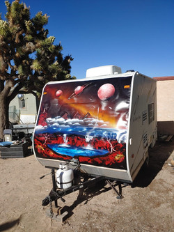 Pimped up trailer