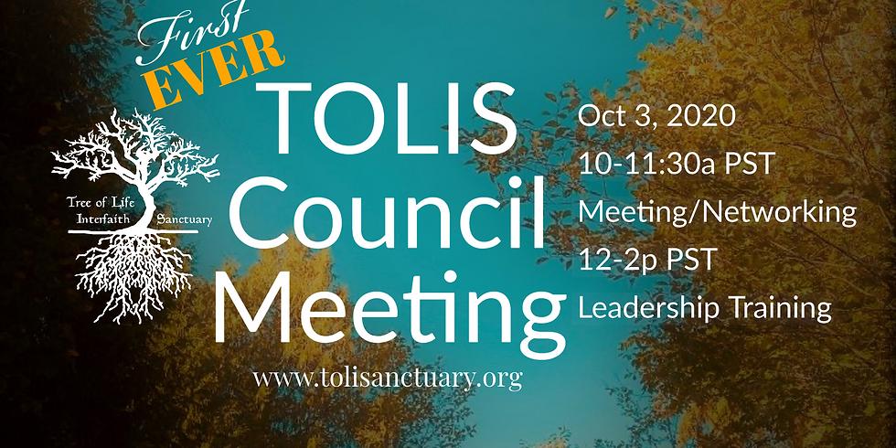 TOLIS 1st Council Meeting