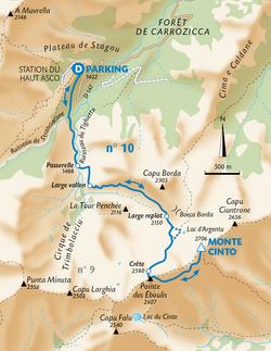 GUIDE RANDO - Haute Corse