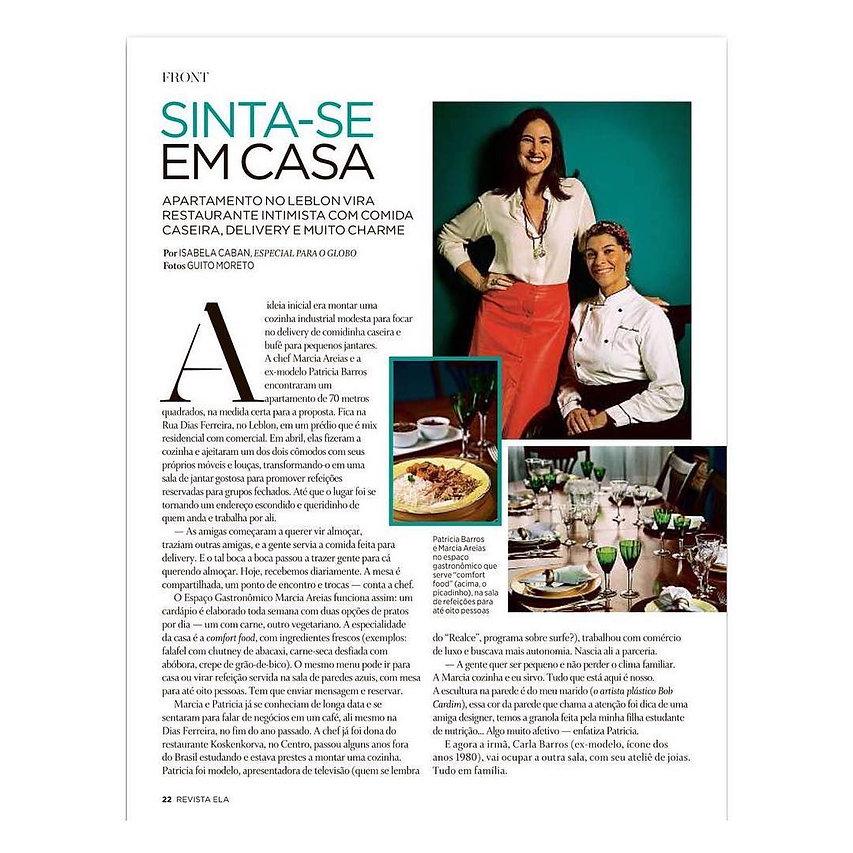 Revista Ela O Globo
