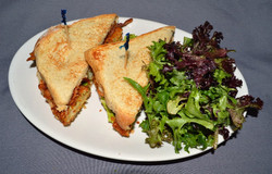 Bacon Fried Green Tomato - BLFGT