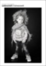 Studio Portrait Leidenschaft in Schwarz-Weiß