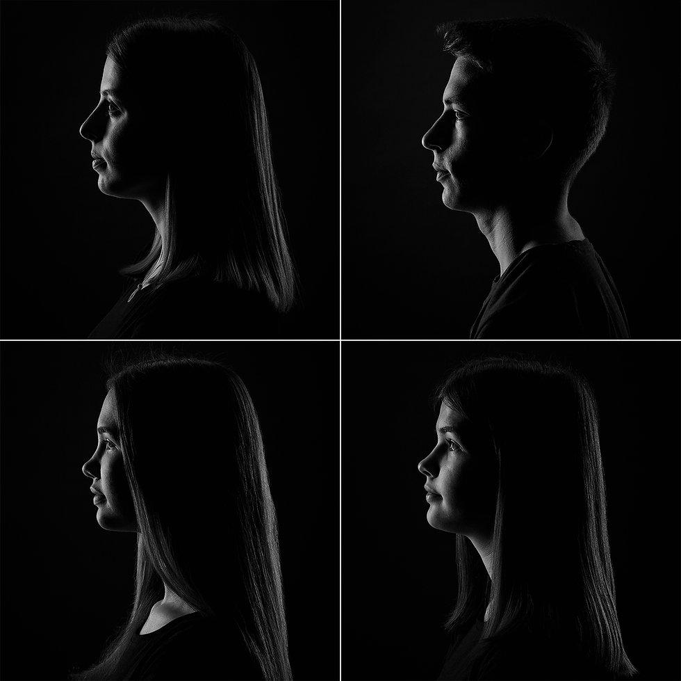 Licht und Schatten Portrait