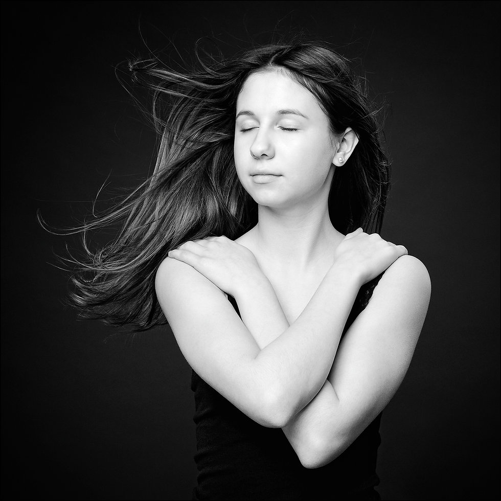 GirlPortraiture, Flying Hair
