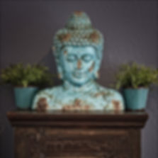 Buddha, Ruhe und Gelassenheit