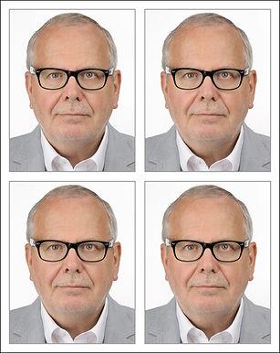 Passbilder biometrisch