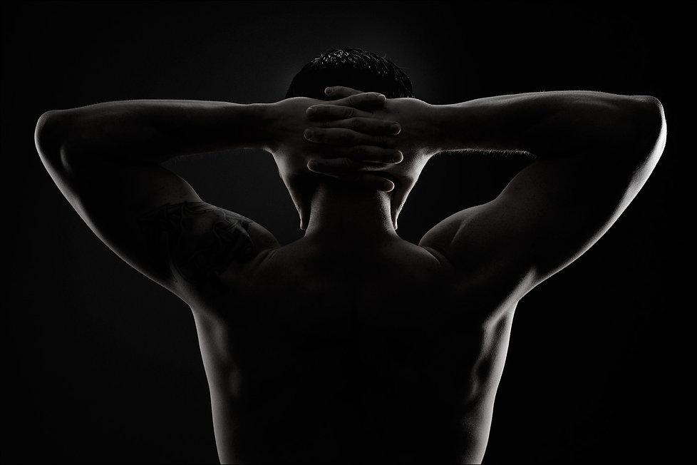 Männer, Muskeln, Training