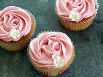Hochzeits-Cupcakes Vintage