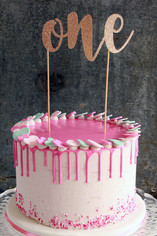 """Cake Topper """"One"""""""
