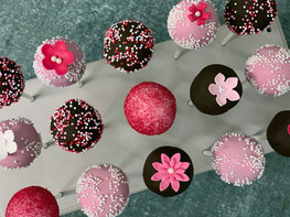 Pink Selection Cake Pops