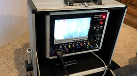 A chimney video scanning screen