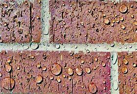 Water proof on brick