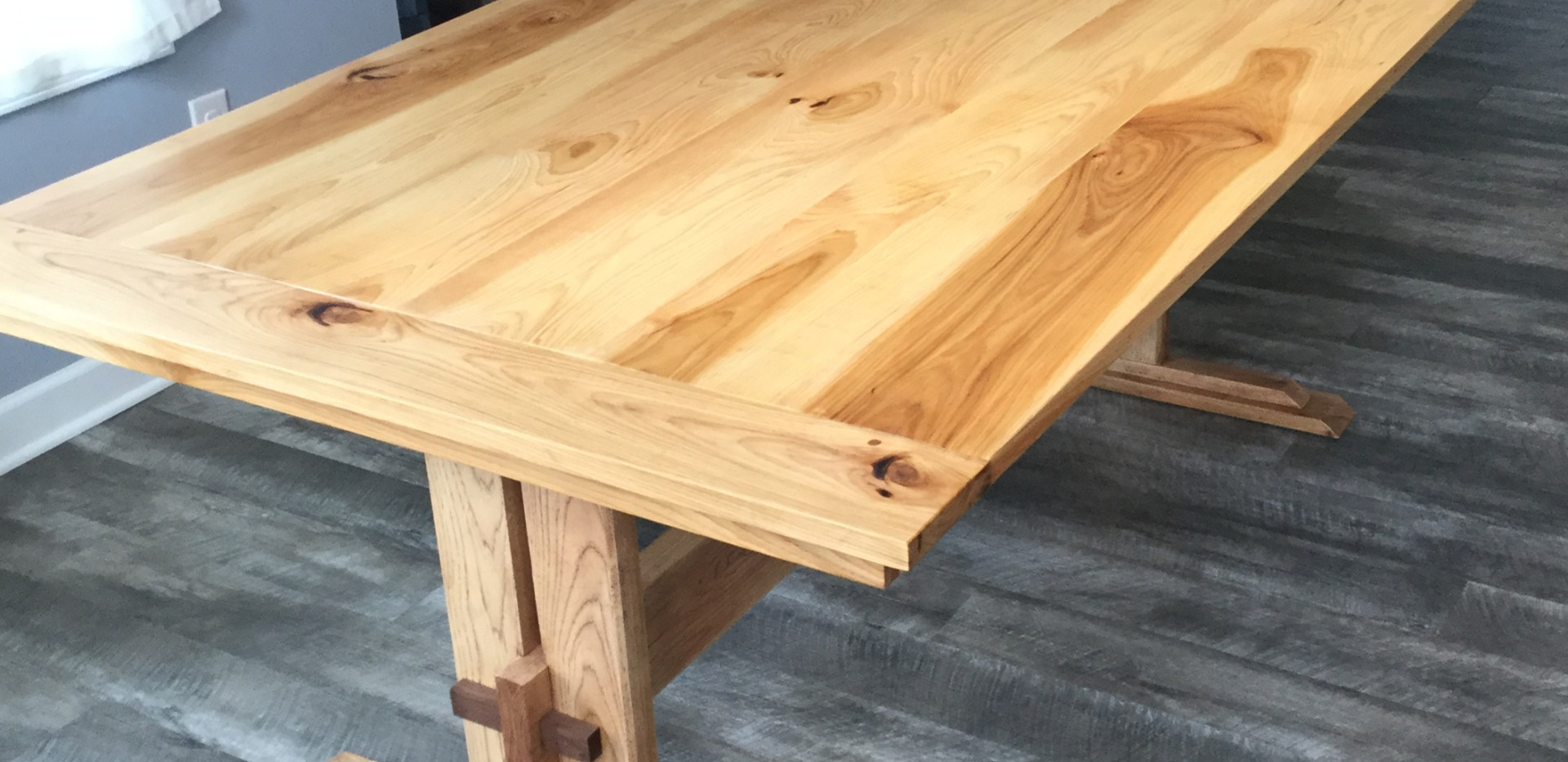 Johnny's finished chestnut table