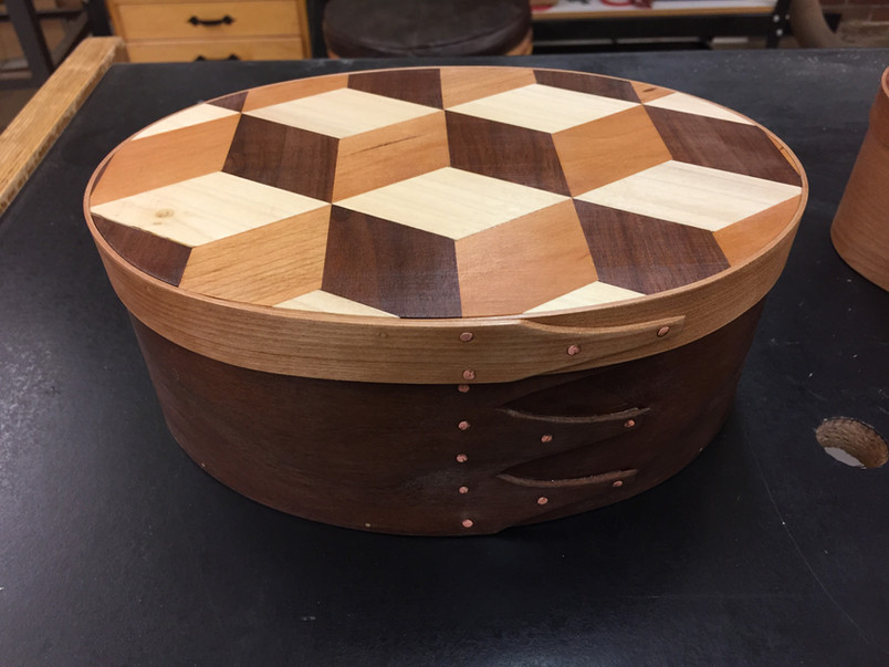 Shaker Box with 3D lid