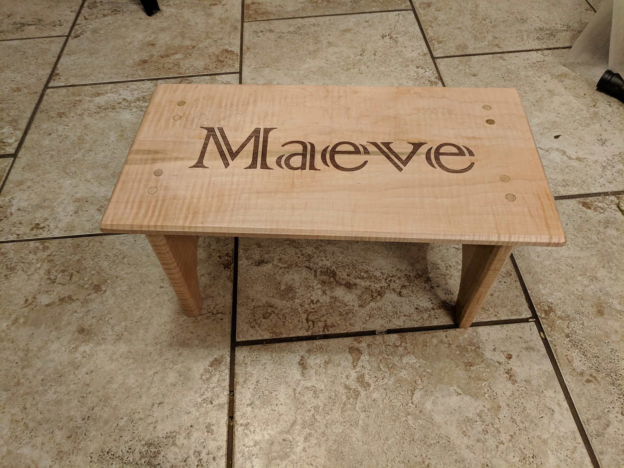 Personilized Step Stool