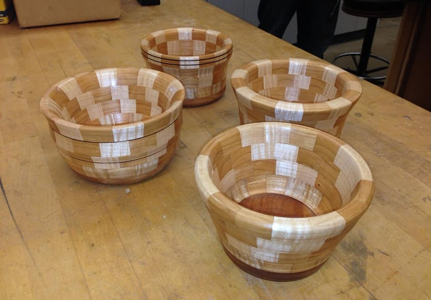 Segmented Bowls from Class